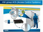 hw group acs access control systems