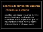 conceito de movimento uniforme4