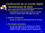 construcci n de un mundo digital generaciones de sitios12