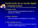 construcci n de un mundo digital lenguaje com n6