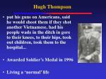 hugh thompson