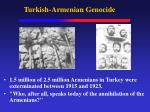 turkish armenian genocide