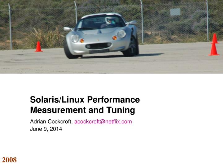 solaris linux performance measurement and tuning n.