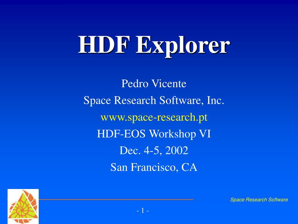 hdf explorer l.