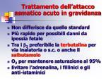 trattamento dell attacco asmatico acuto in gravidanza