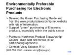 environmentally preferable purchasing for electronic products