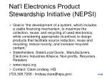 nat l electronics product stewardship initiative nepsi