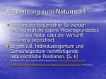 abgrenzung zum naturrecht11