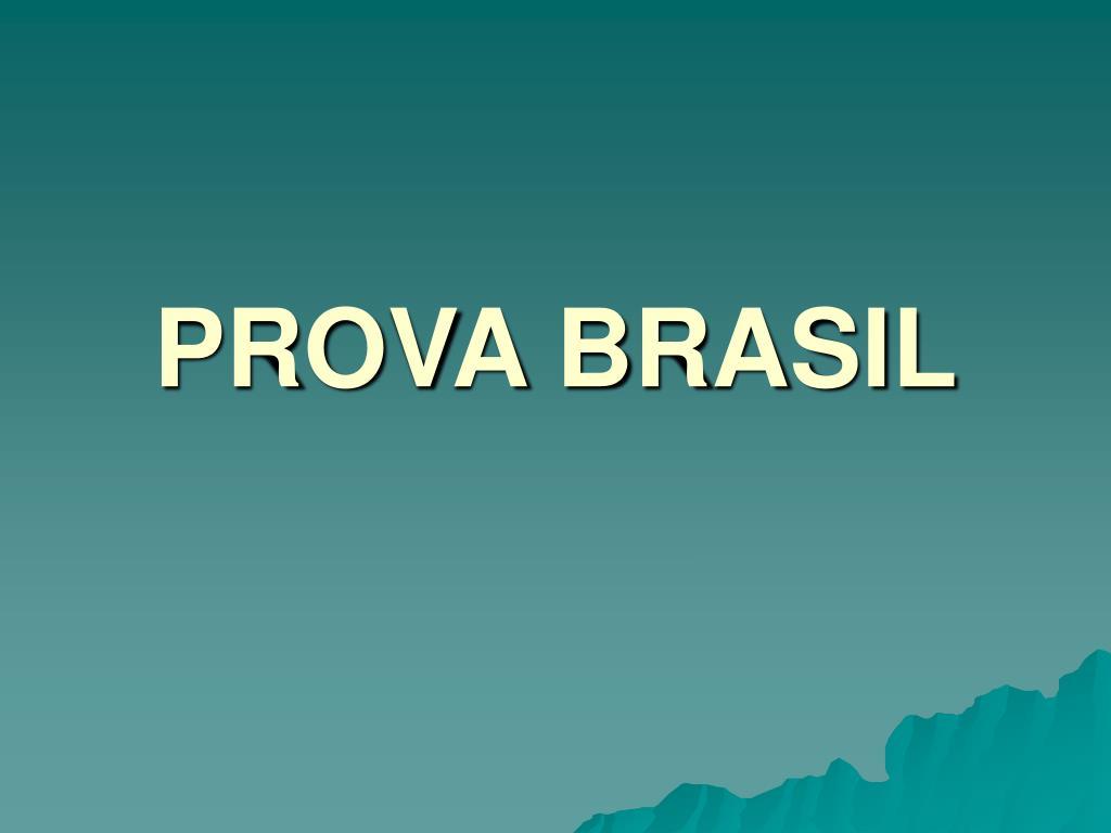 prova brasil l.