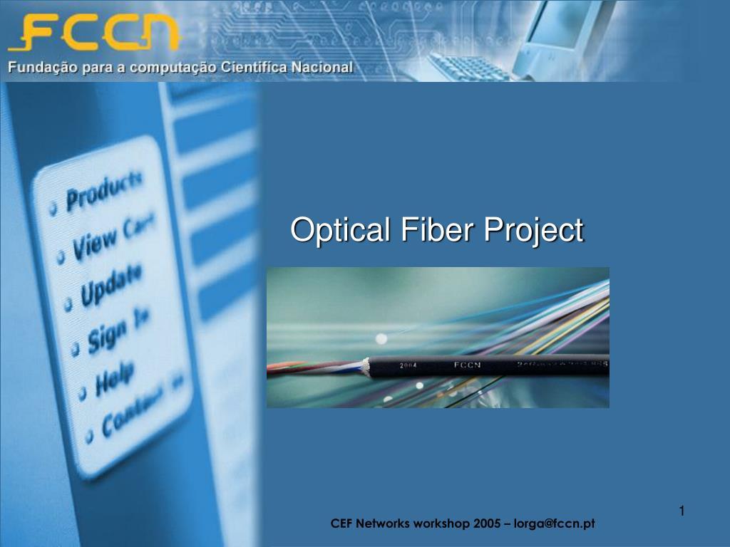 optical fiber project l.