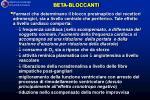 beta bloccanti