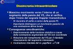 dissincronia intraventricolare