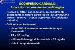 scompenso cardiaco indicazioni a consulenza cardiologica16