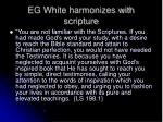 eg white harmonizes with scripture9