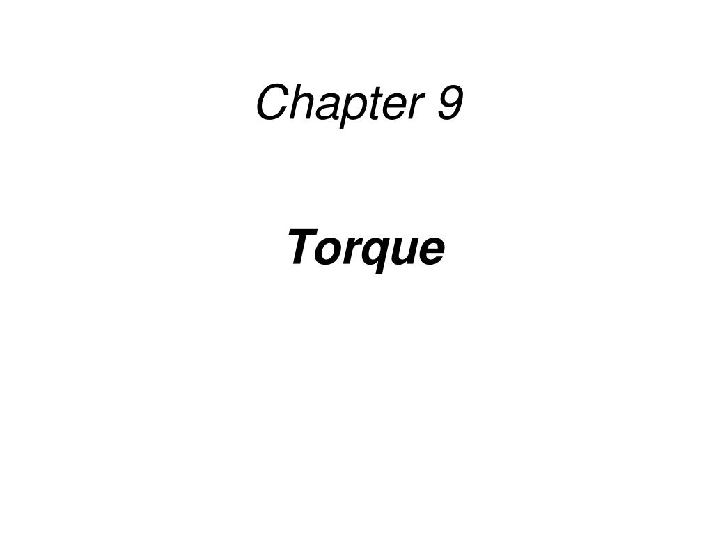 chapter 9 l.