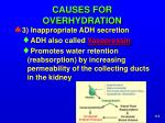 causes for overhydration2