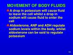 movement of body fluids5