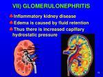 vii glomerulonephritis