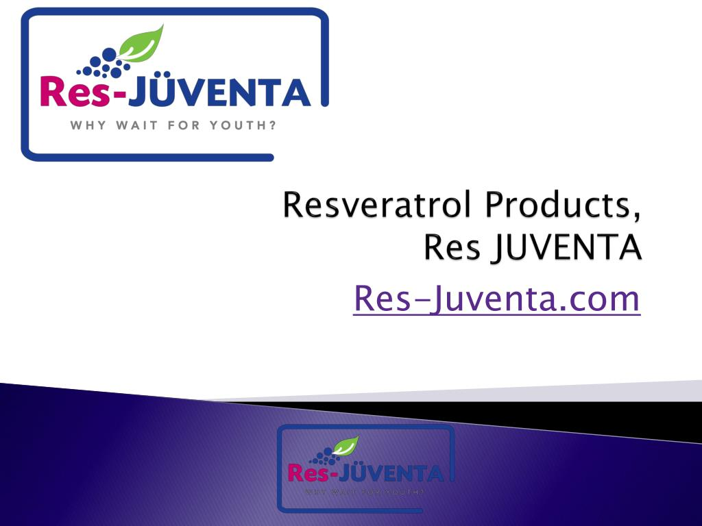 resveratrol products res juventa l.