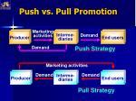push vs pull promotion