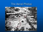 the aerial photos