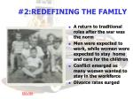 2 redefining the family