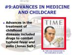 9 advances in medicine and childcare