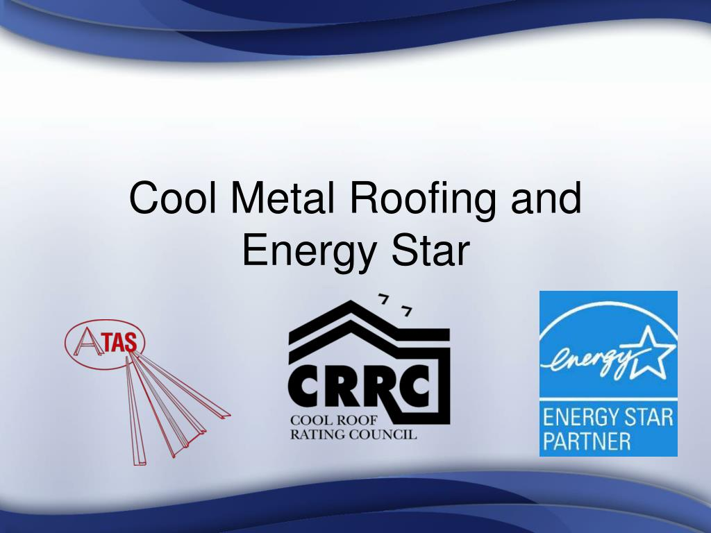 cool metal roofing and energy star l.