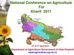 department of agriculture government of uttar pradesh www agriculture up nic in