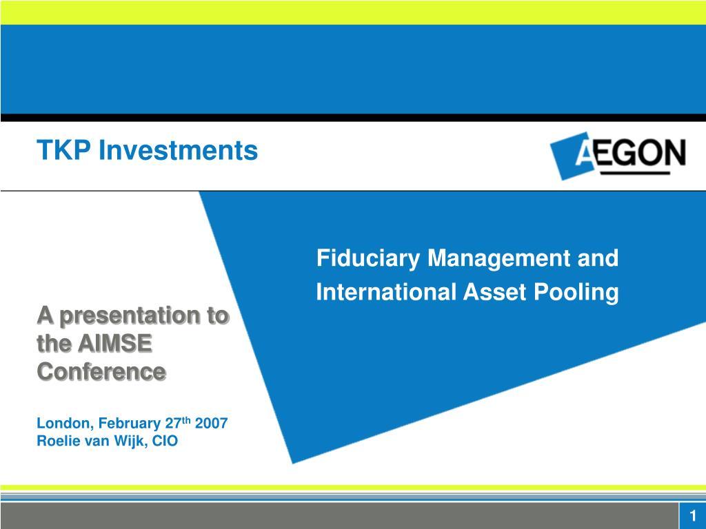 tkp investments l.