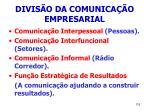 divis o da comunica o empresarial115