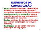 elementos da comunica o31