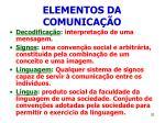 elementos da comunica o32