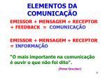 elementos da comunica o33