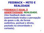 feedback mito e realidade37