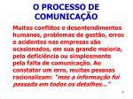 o processo de comunica o27