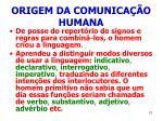 origem da comunica o humana21