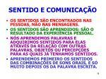 sentido e comunica o78