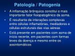 patologia patogenia