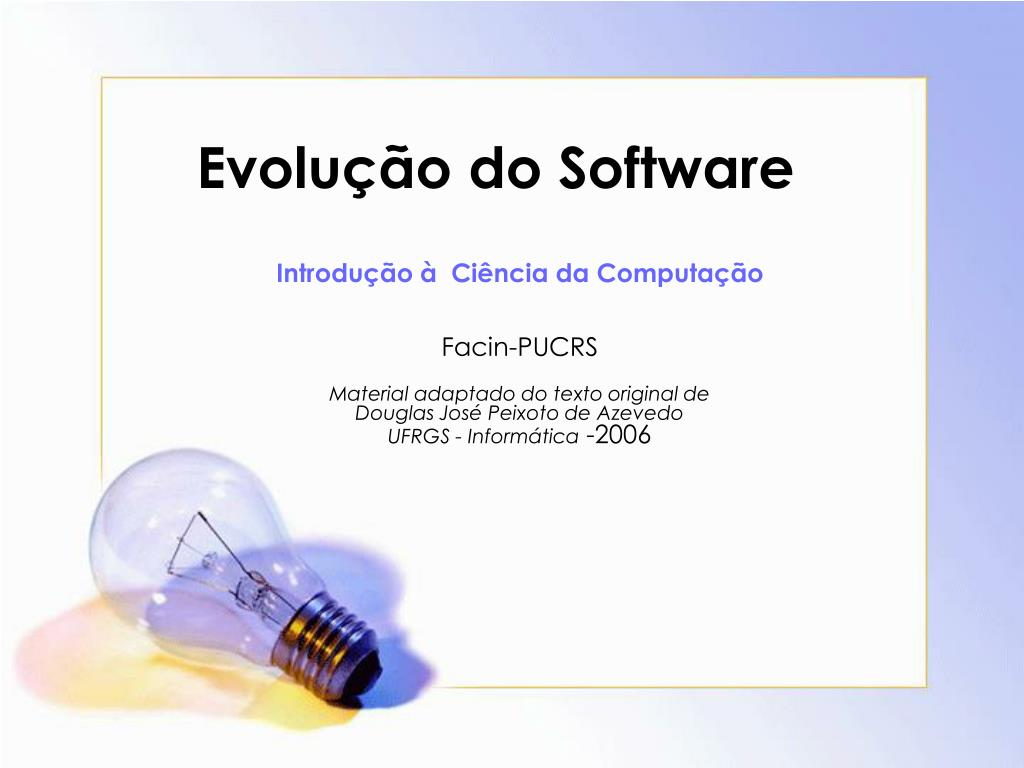 evolu o do software l.