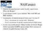 wasp project