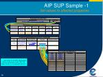 aip sup sample 1 set values to affected properties