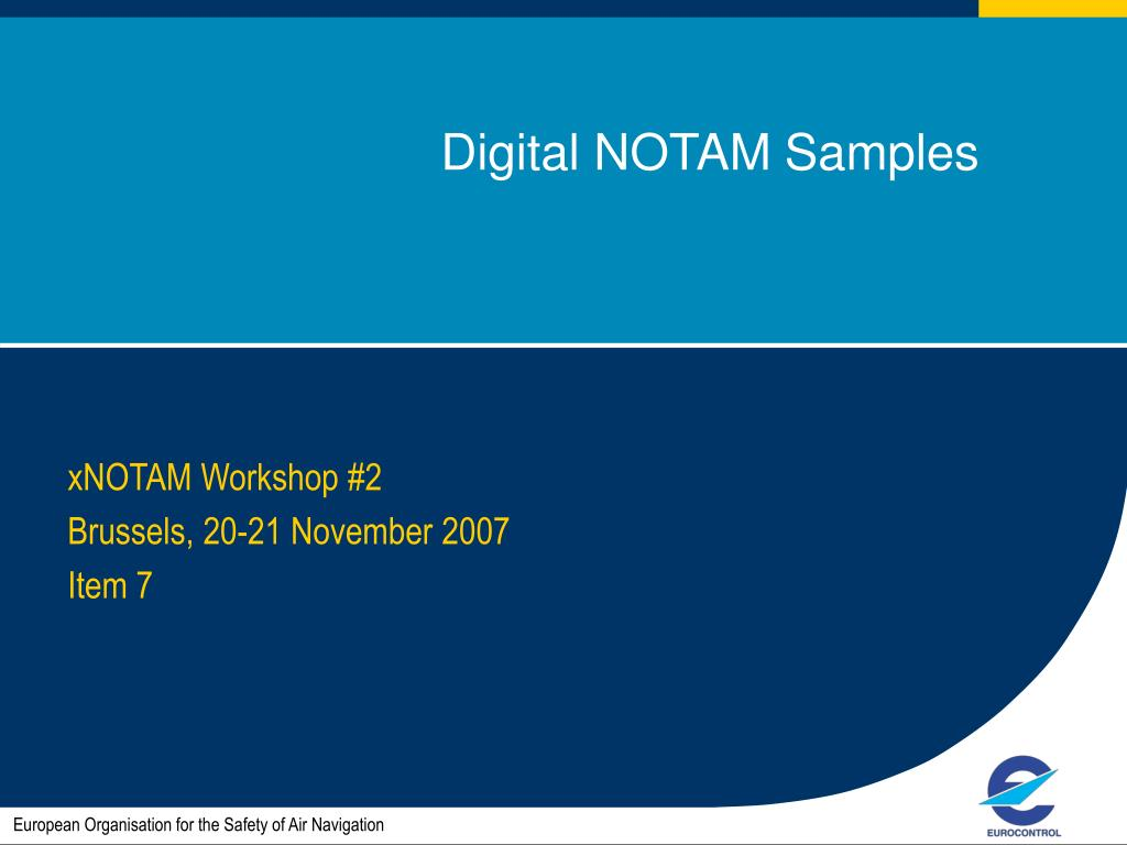digital notam samples l.