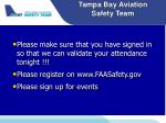 tampa bay aviation safety team12