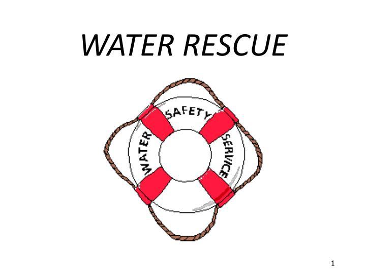 water rescue n.