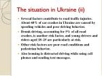 the situation in ukraine ii