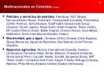 multinacionales en colombia cont