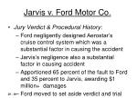 jarvis v ford motor co16