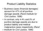product liability statistics29