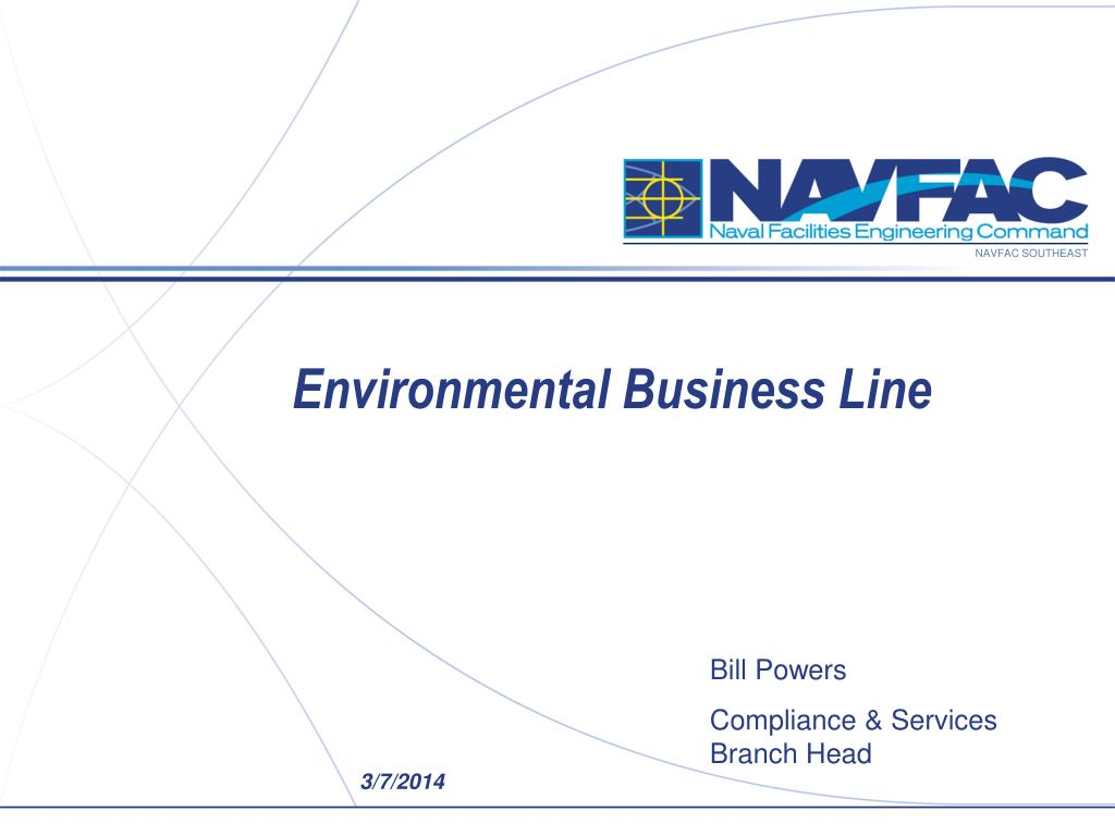 environmental business line l.